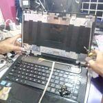 Repair Engsel dan Ganti LCD Laptop