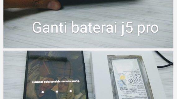 Baterai Melembung sampai angkat LCD, Ganti yang baru saja