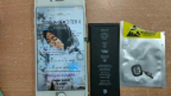 Ganti Baterai Iphone 6 dan Repair Bottom Home