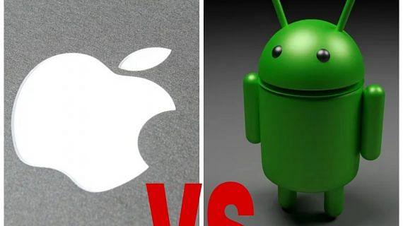 Perbedaan Android dengan iPhone
